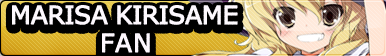 Marisa Kirisame fan button
