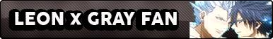 Leon x Gray fan button
