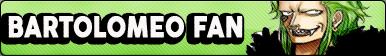 Bartolomeo Fan Button