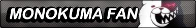 Monokuma fan button by buttonsmakerv2