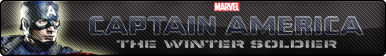 Captain America :The Winter Soldier fan button