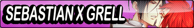 Sebastian X Grell Fan Button