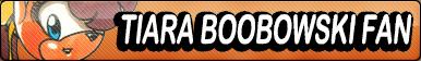 Tiara Boobowski Fan button by buttonsmakerv2