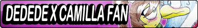 Dedede x Camilla Fan Button