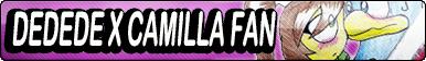 Dedede x Camilla Fan Button by buttonsmakerv2