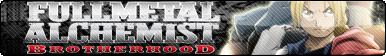 Fullmetal Alchemist Brotherhood Fan button