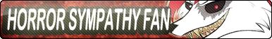 Horror Sympathy Fan button