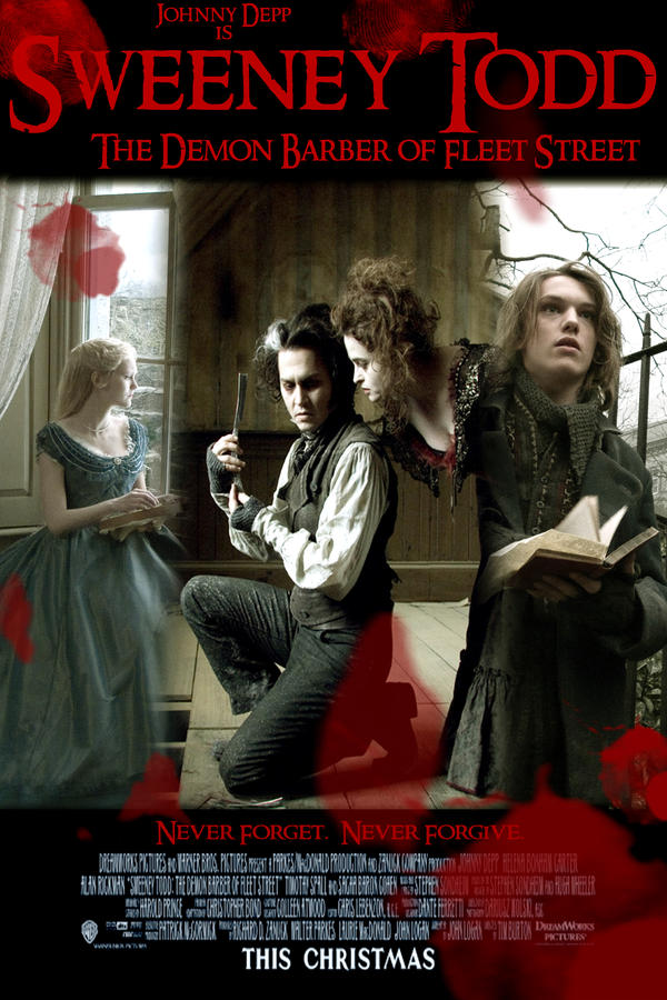 sweeney todd poster contest 1 by ivynightwind on deviantart