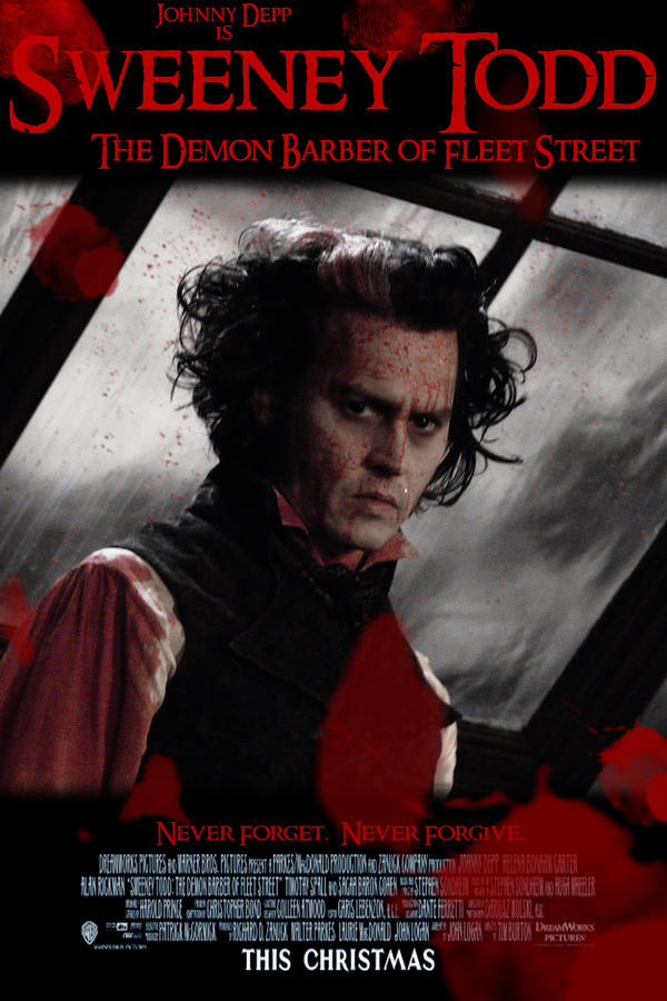 sweeney todd poster contest 3 by ivynightwind on deviantart
