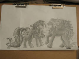 My Little Ponies WIP by IvyNightwind