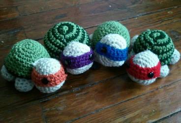 Ninja Turtles by IvyNightwind