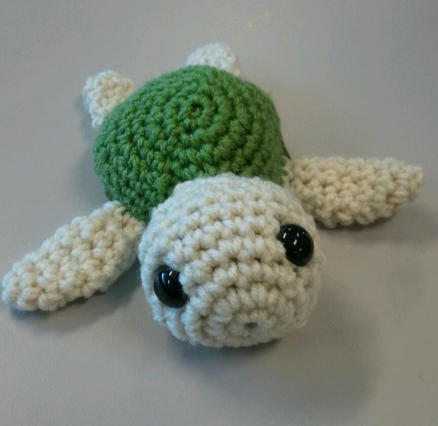 Baby Sea Turtle Plushie Crochet by IvyNightwind on deviantART