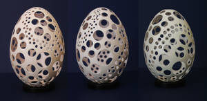 Egg carving 2 by Secerov