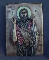 St.John woodcarving