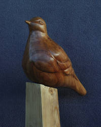 Dove wood sculpture
