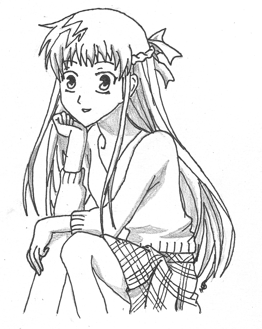 fruits basket yuki coloring pages - photo#7