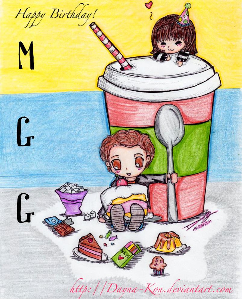 MGGs Birthday_2011 By Dayna-Kon On DeviantArt