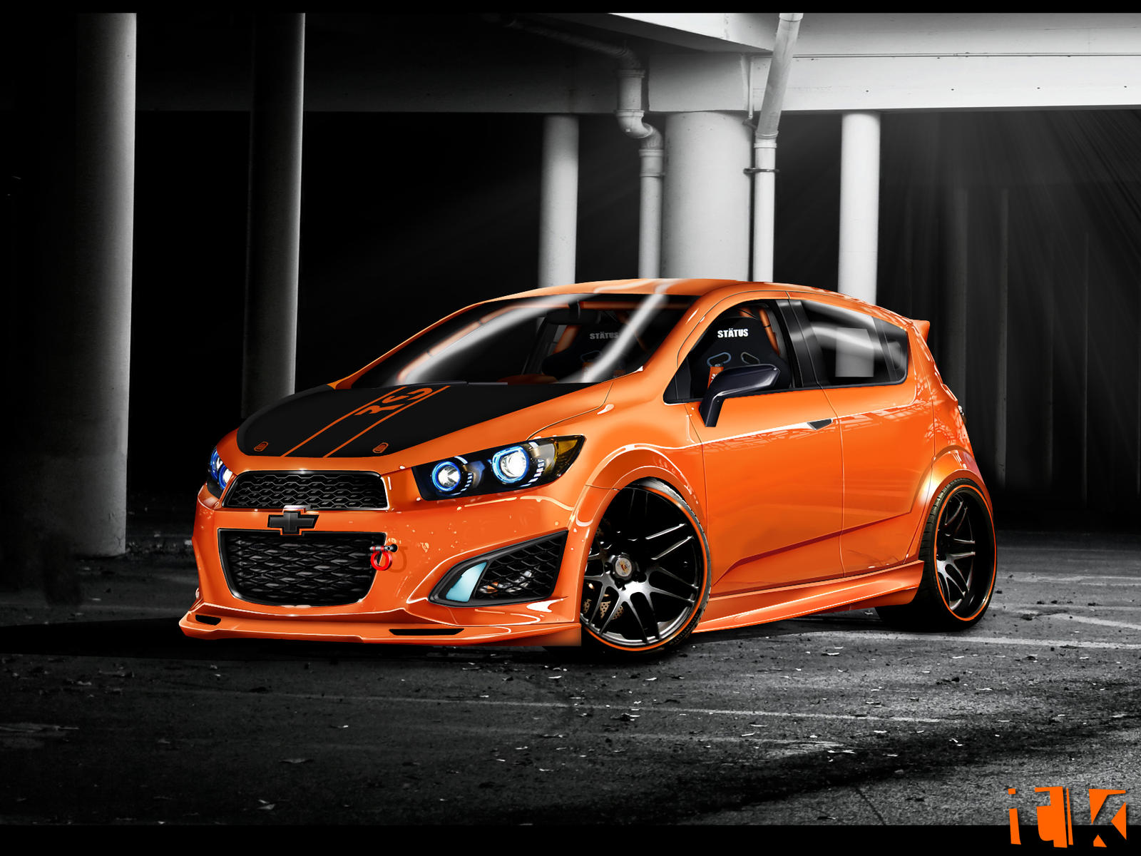 Chevrolet Aveo Rs By Tktuning On Deviantart
