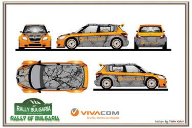 Skoda Fabia S2000 VIVACOM by TKtuning