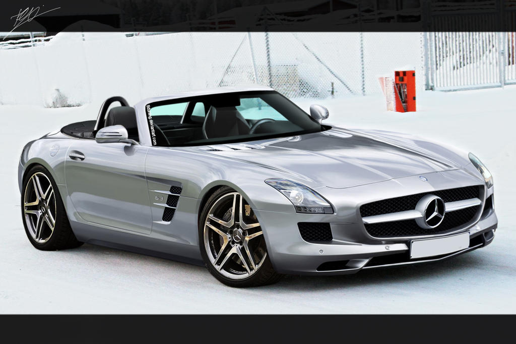 Mercedes SLS Roadster by TKtuning