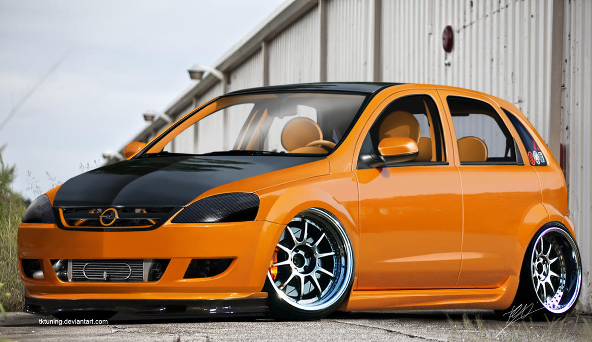 Opel Corsa C By Tktuning On Deviantart