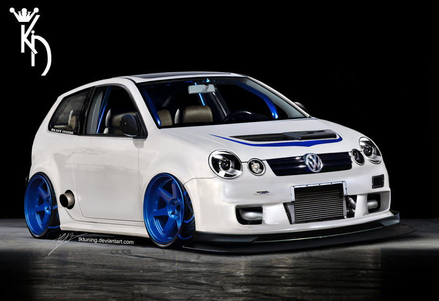 vw polo 9n by tktuning on deviantart. Black Bedroom Furniture Sets. Home Design Ideas