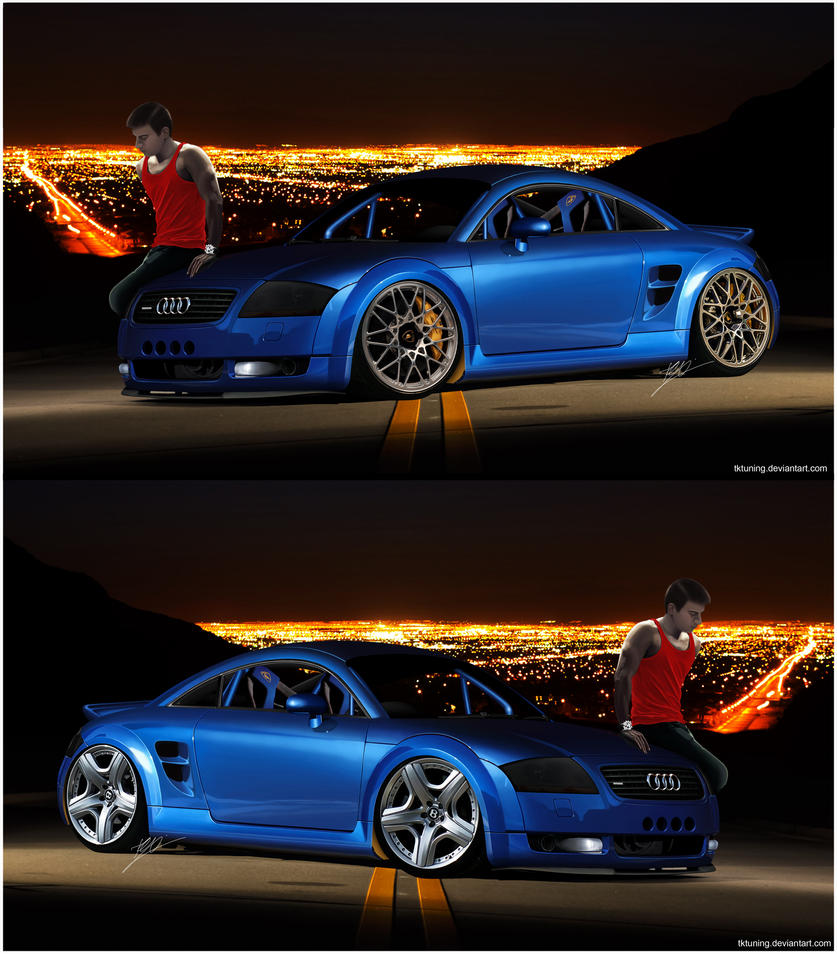 Audi Tt Mki Quattro By Tktuning On Deviantart