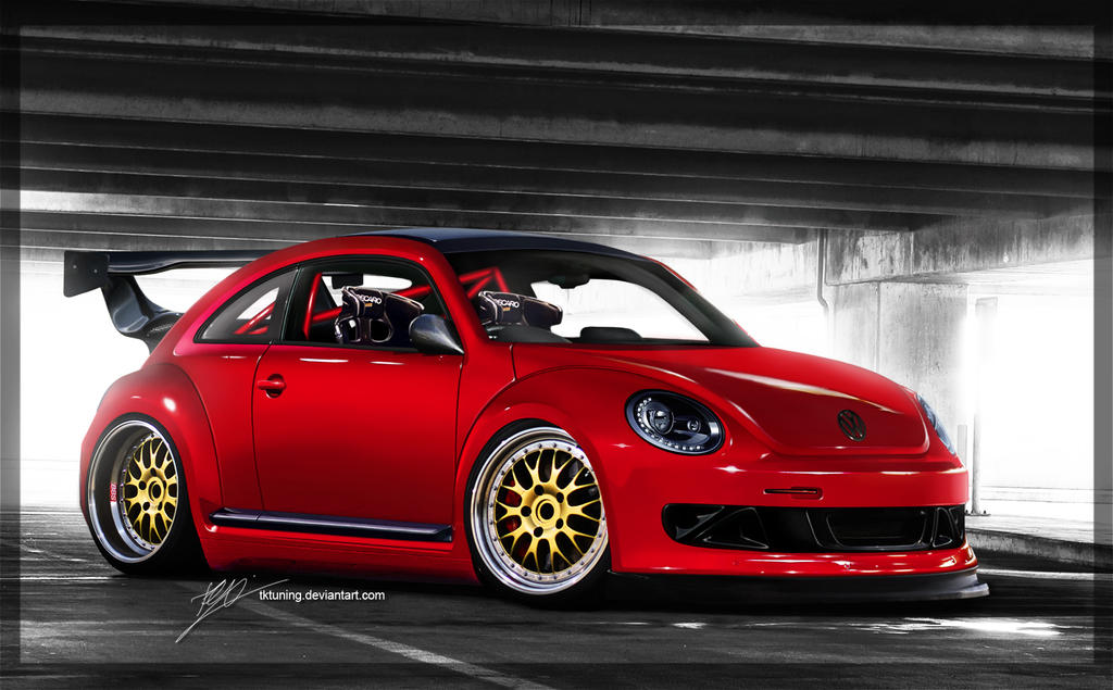 2011 VW Beetle by TKtuning