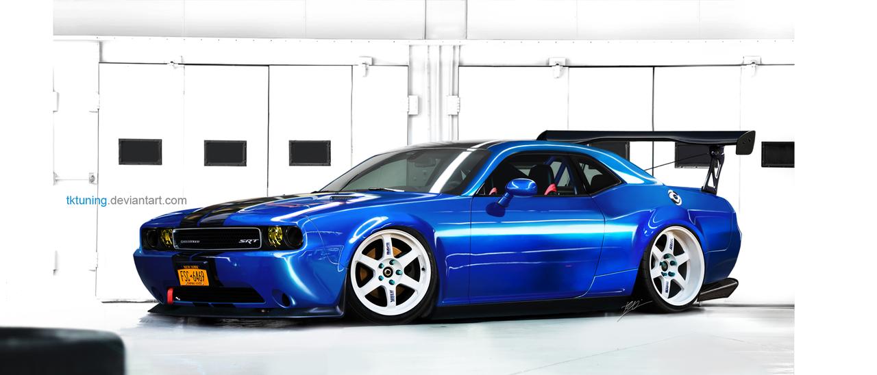 Dodge Challenger SRT by TKtuning