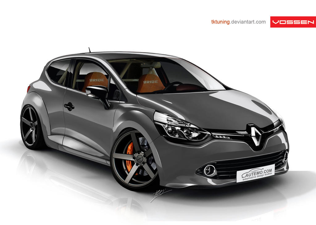 renault clio 2012 by tktuning on deviantart. Black Bedroom Furniture Sets. Home Design Ideas