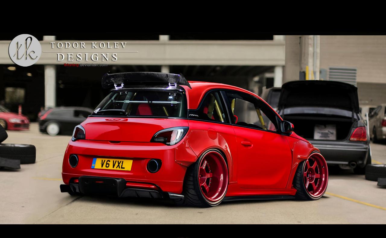 Vauxhall Adam by TKtuning