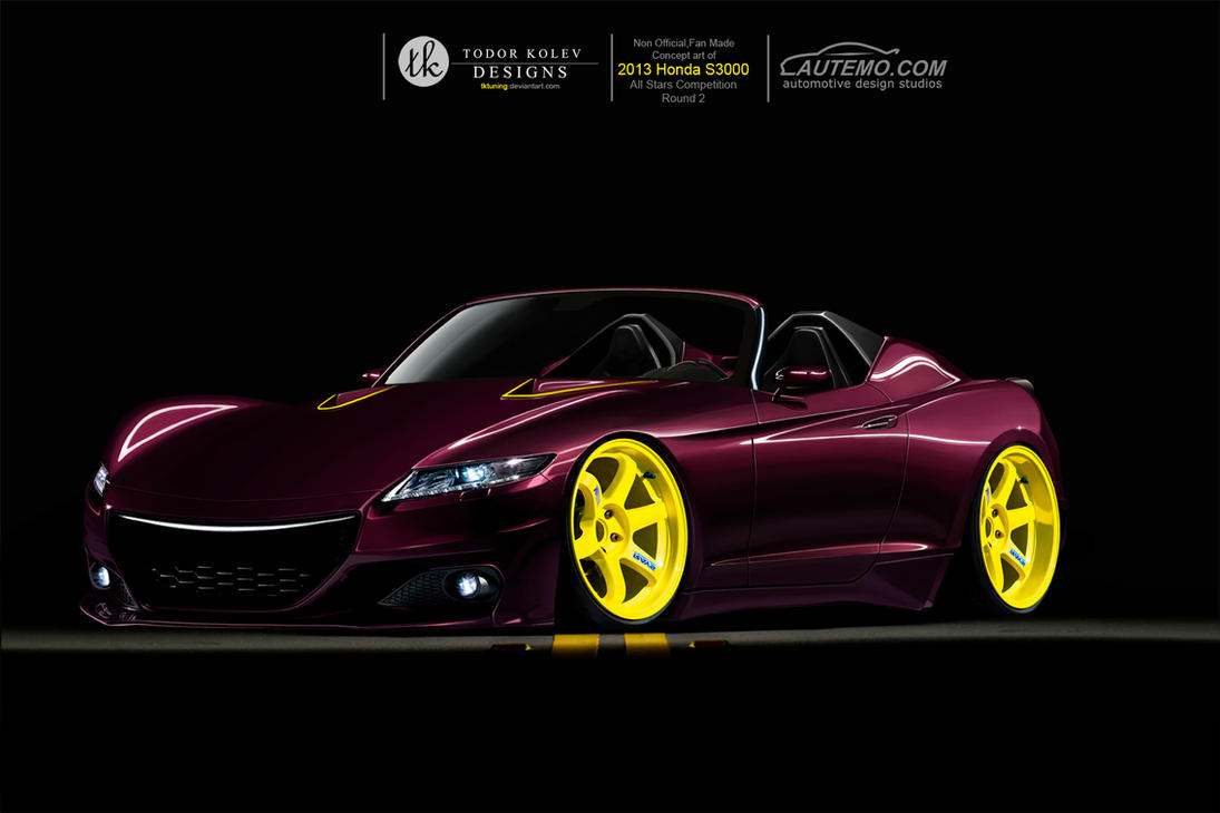 Honda S3000 Concept by TKtuning on DeviantArt