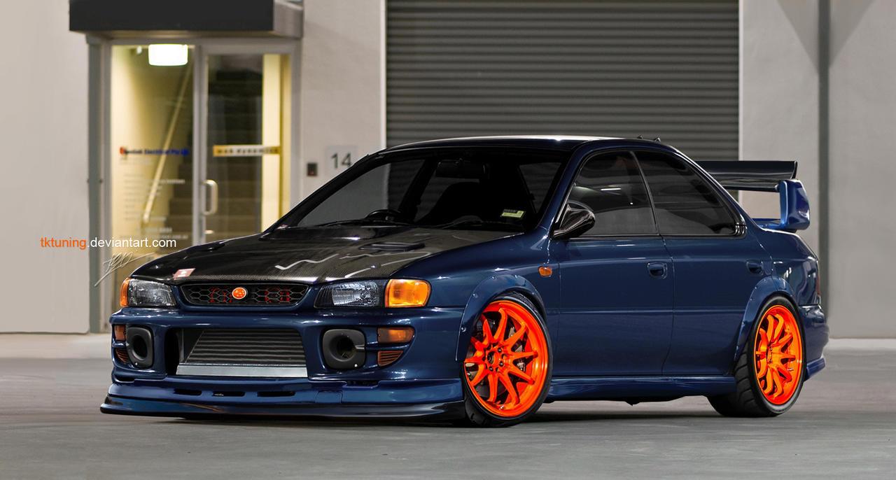 Subaru Impreza GC8 by TKtuning