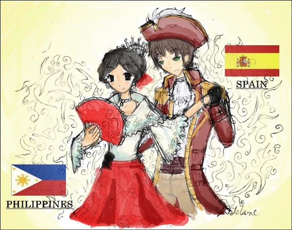 spain relationship with philippines