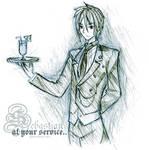 At your service : Sebastian M.
