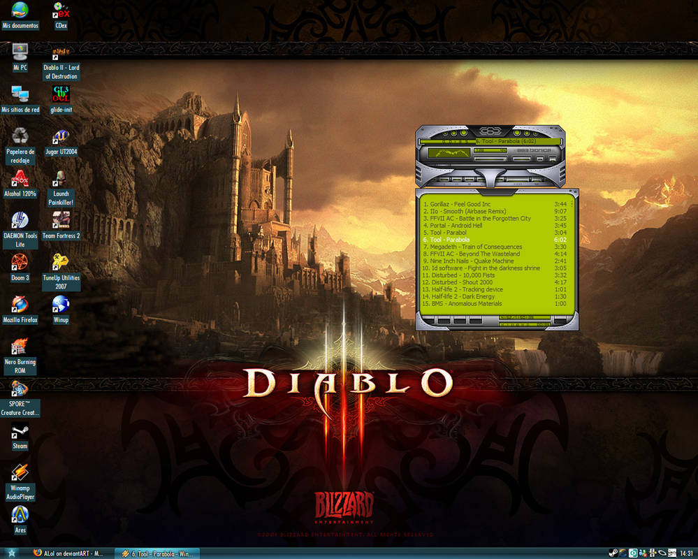 Diablo's favourite desert.