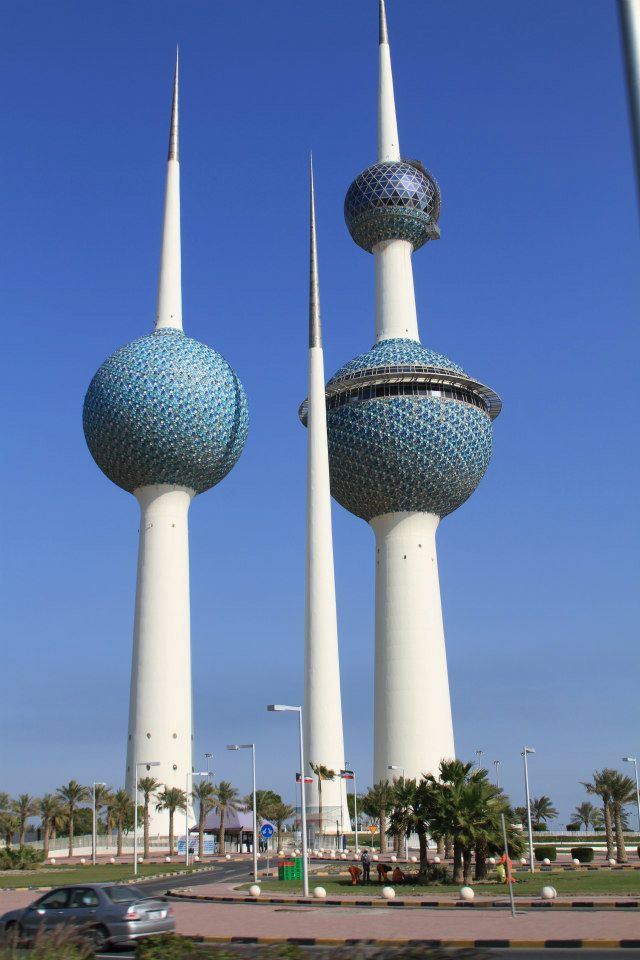 Kuwait Towers by REVY2005 on DeviantArt All Sizes Water Towers Kuwait Photos