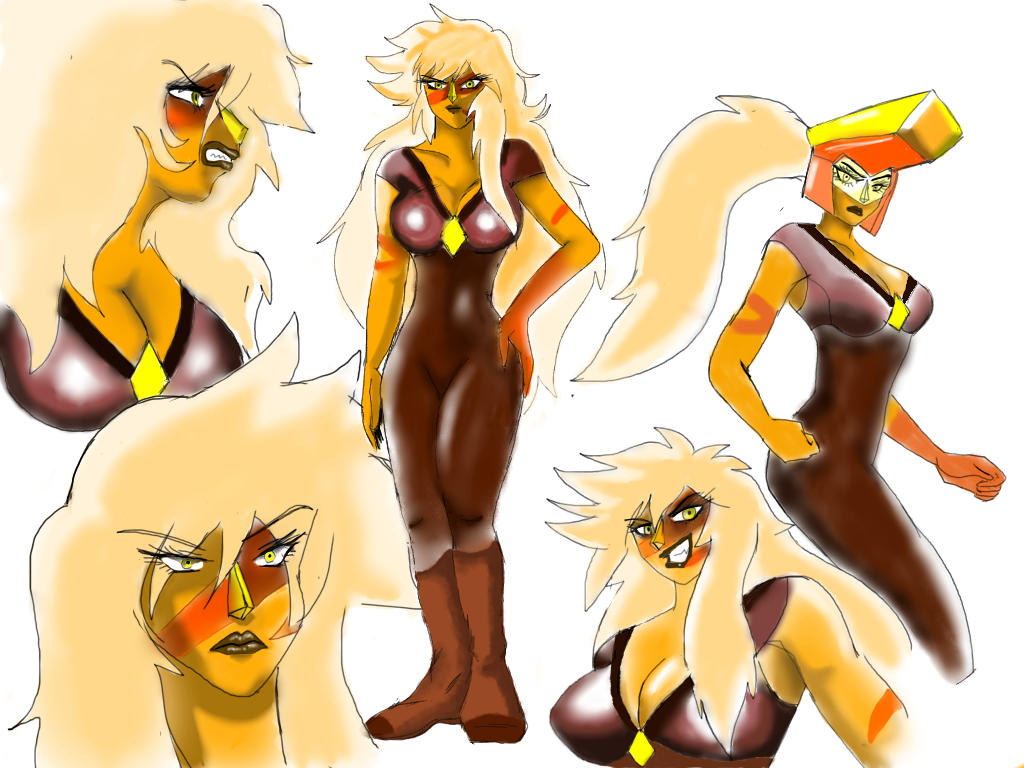 Jasper redesign ( anime ) by anime1999