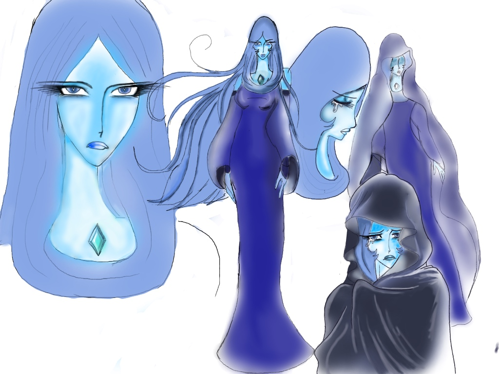 My redesign of blue daimond by anime1999