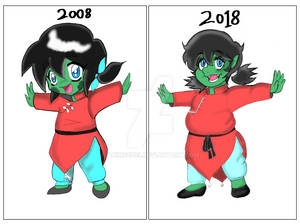 my old character design