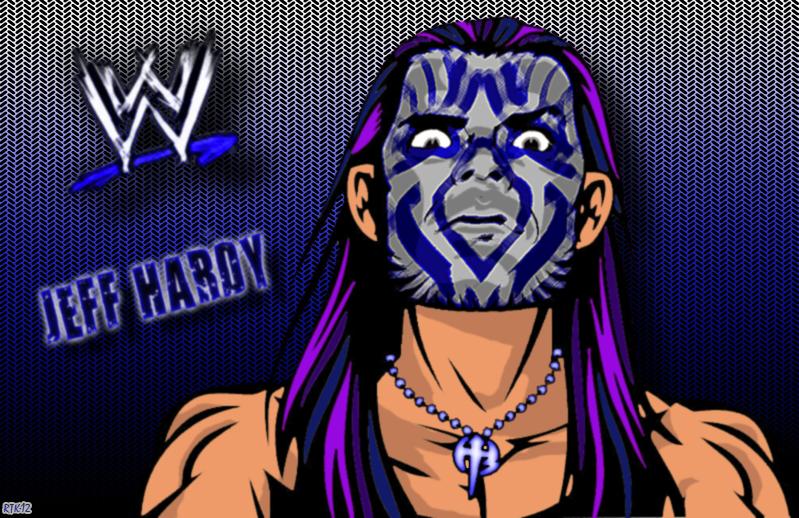 Jeff Hardy Blue Facepaint By Rtk12 On Deviantart Jeff Hardy Color Drawing
