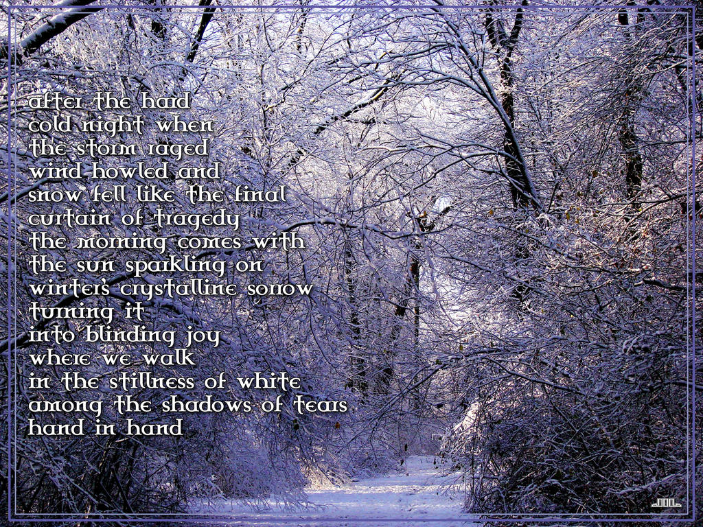Image result for good morning winter poem Monday