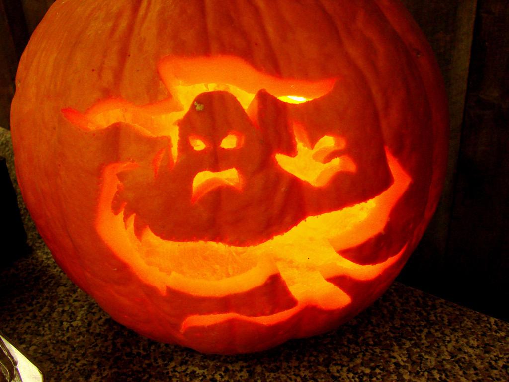 Pumpkin carvings vi by triciastucenski
