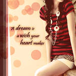 A dream is ......