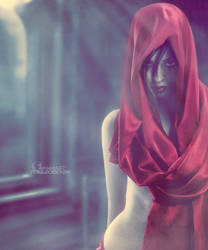.: Lady in red :. by Pure-Poison89