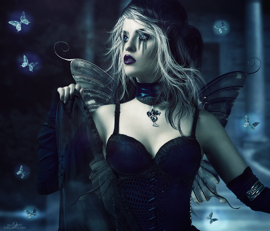sexy gothic fairy wallpaper - photo #34