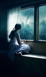 . Stormy day .