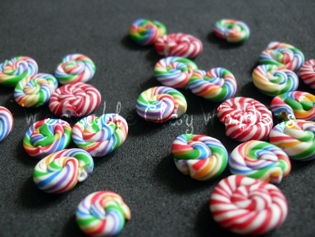 Minty beads by TheOneMarina