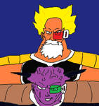 Captain Sharky with Captain Ginyu Version 2 by DXRD