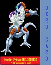 Mecha-Frieza DXRD Card by DXRD